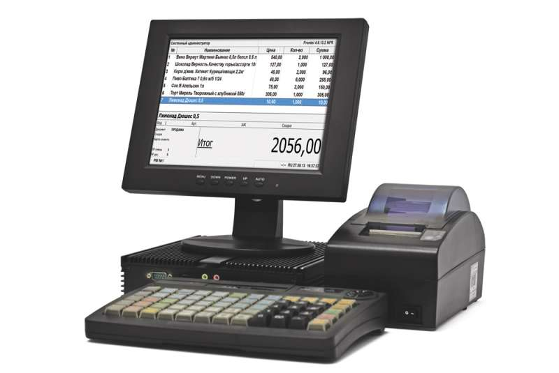 POS-система АТОЛ Ритейл 54 Pro АТОЛ 55Ф без ФН, Windows, Frontol 5, NFD10, SJ-1088, КВ-60, MSR123